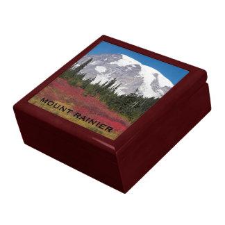 Autumn Mount Rainier Photo Gift Box