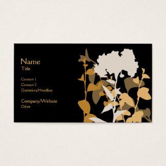 Autumn Night Business Card