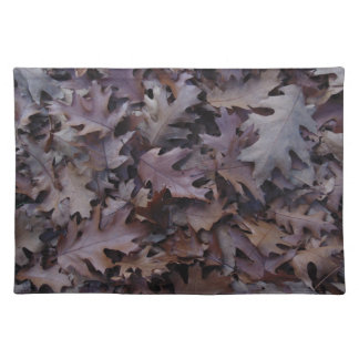 Autumn Oak Leaves Placemat
