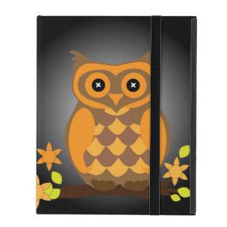 Autumn Orange Owl iPad Case