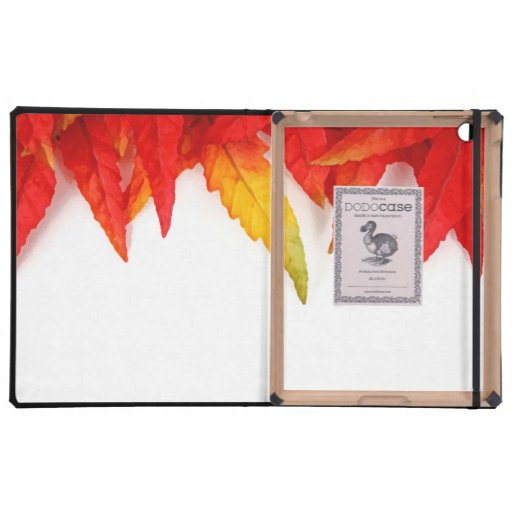 Autumn Painterly Leaf Cases For iPad