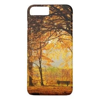 Autumn park iPhone 7 plus case