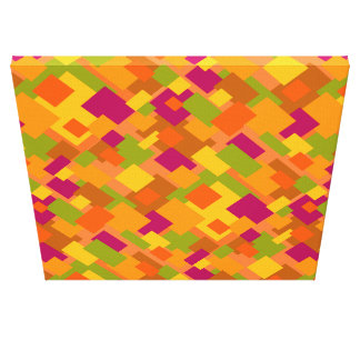 Autumn Patch 2 Canvas Diagonal Design