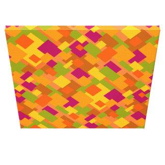 Autumn Patch 2 Canvas Diagonal Design Canvas Print