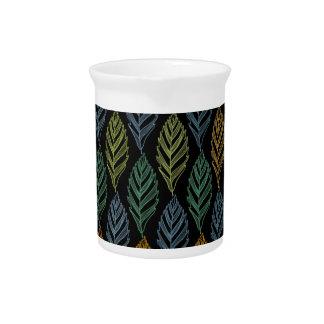 Autumn pattern b pitcher