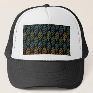 Autumn pattern b trucker hat