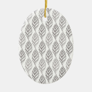 Autumn pattern ceramic ornament