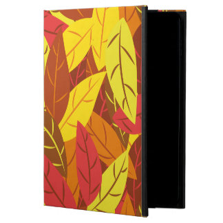 Autumn pattern colored warm leaves powis iPad air 2 case