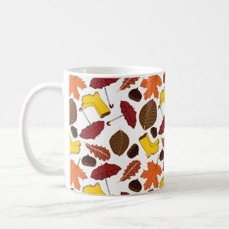 Autumn patterned mug