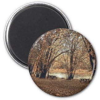 Autumn Picnic Magnet