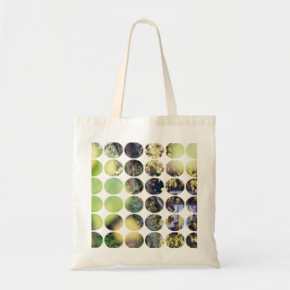 Autumn Polka Dots Golden Branches + Leaves Bag
