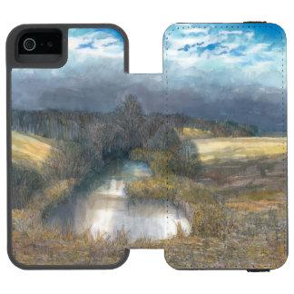 autumn pond incipio watson™ iPhone 5 wallet case