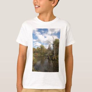 AUTUMN POND SCENE T-Shirt