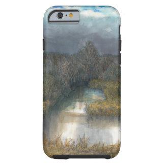 autumn pond tough iPhone 6 case