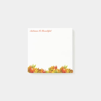 Autumn Post Notes-Autumn Is Beautiful Post-it Notes