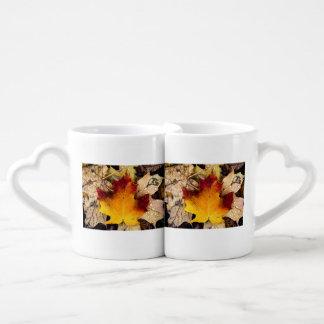 autumn presence coffee mug set