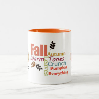 Autumn Pumpkin Everything Mug