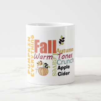 Autumn Pumpkin Everything Soup Mug