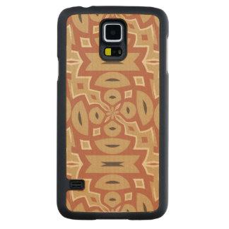 Autumn Pumpkin Spice Design Maple Galaxy S5 Slim Case
