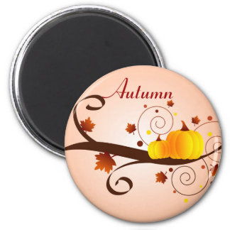 Autumn pumpkins - Magnet