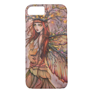 Autumn Queen Fairy Fantasy Art by Molly Harrison iPhone 8/7 Case
