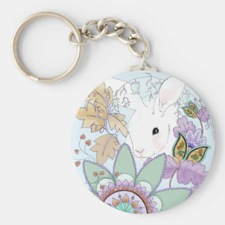 Autumn Rabbit Keychain