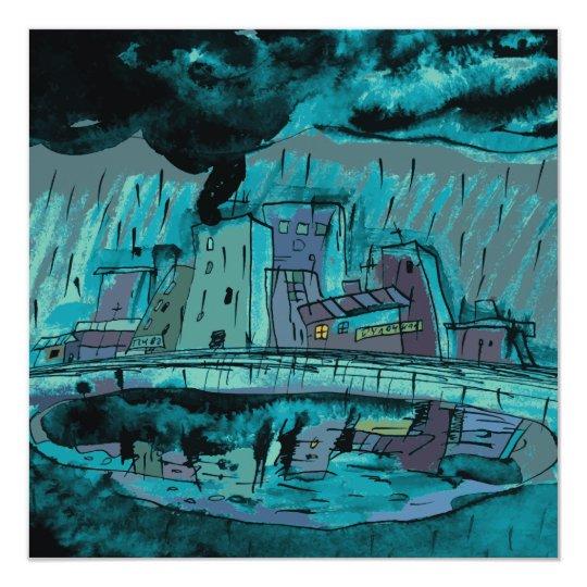 Autumn Rain Card
