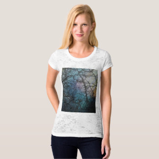 Autumn Rain on a Colorful Day in the Forrest. T-Shirt