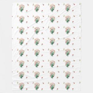 Autumn Range Flowers and Butterflies Blanket