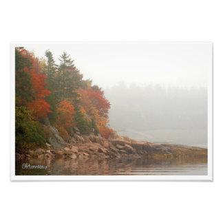 Autumn Reflections Art Photo