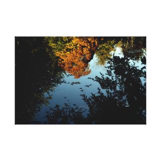 Autumn Reflections Canvas Canvas Print