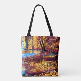 Autumn River tote