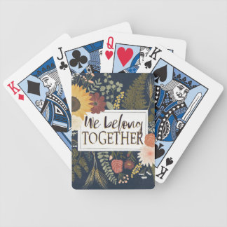 Autumn Romance IV | We Belong Together Bicycle Playing Cards