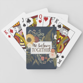 Autumn Romance IV | We Belong Together Playing Cards