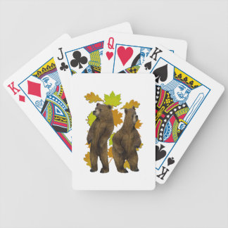 Autumn Rush Bicycle Playing Cards