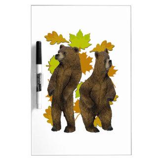 Autumn Rush Dry Erase Board
