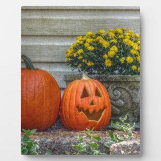Autumn Scene Photo Plaque