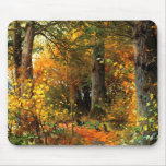 Autumn Scenery Painting Gift Mousepad