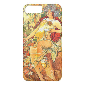 Autumn Season Vintage Art Nouveau iPhone 7 Plus Case