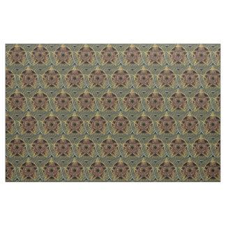 Autumn Shades Pagan Pentacle Fabric