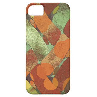 Autumn shapes barely there iPhone 5 case