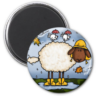 autumn sheep magnet