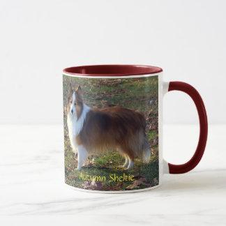 Autumn Sheltie Mug