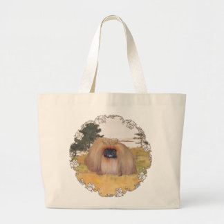 Autumn Shore Jumbo Tote Bag