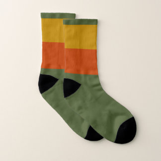 Autumn Small All-Over-Print Socks 1