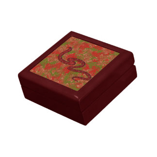 Autumn snake gift box