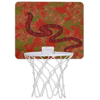 Autumn snake mini basketball hoop