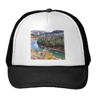 Autumn Snake River Mesh Hat