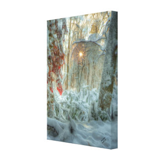 Autumn Snow Gallery Wrap Canvas