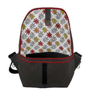 Autumn Splats Messenger Bag